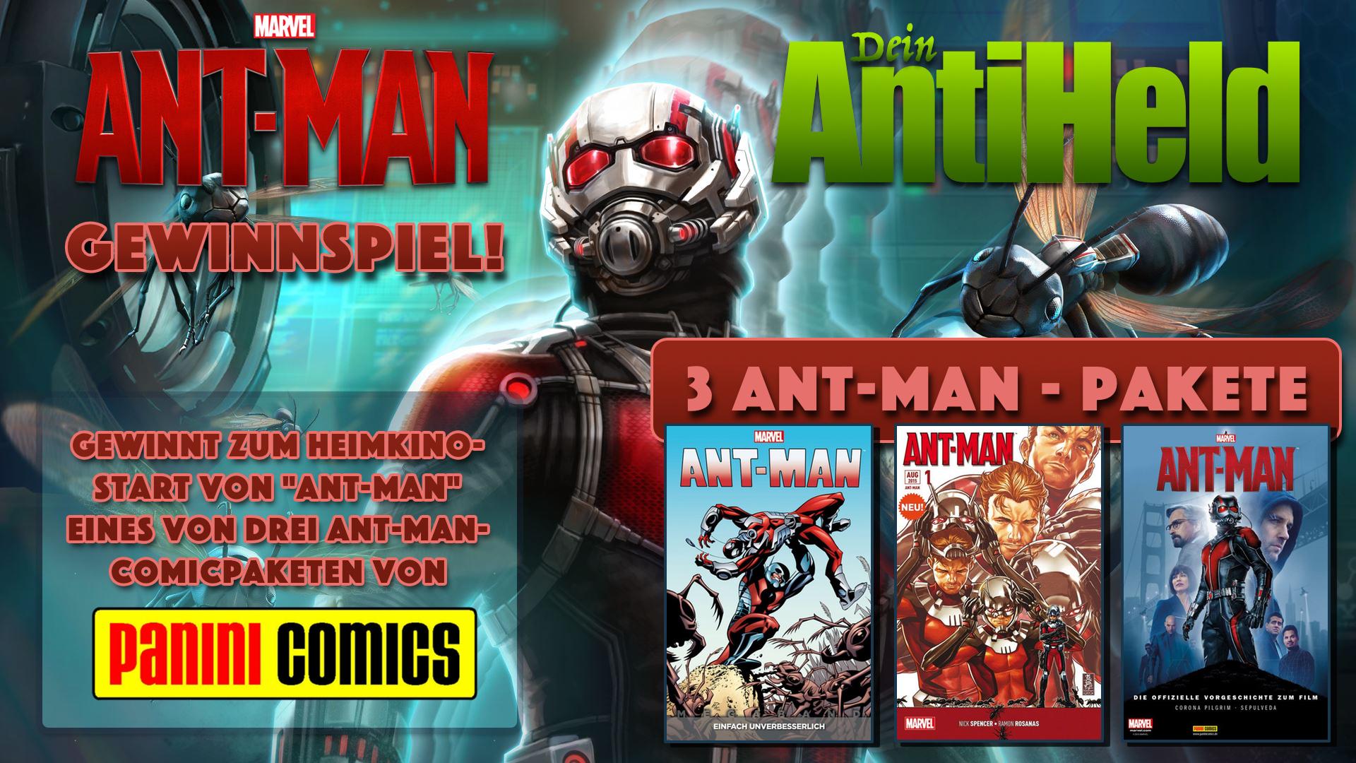Ant-Man Gewinnspiel Flyer